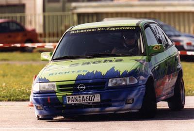 Opel Astra - Das erste Slalomfahrzeug